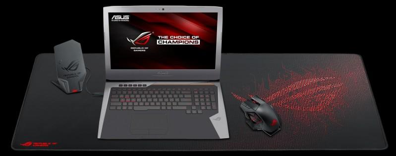 超大敗家之眼,ASUS REPUBLIC OF GAMERS發表ROG SHEATH滑鼠墊