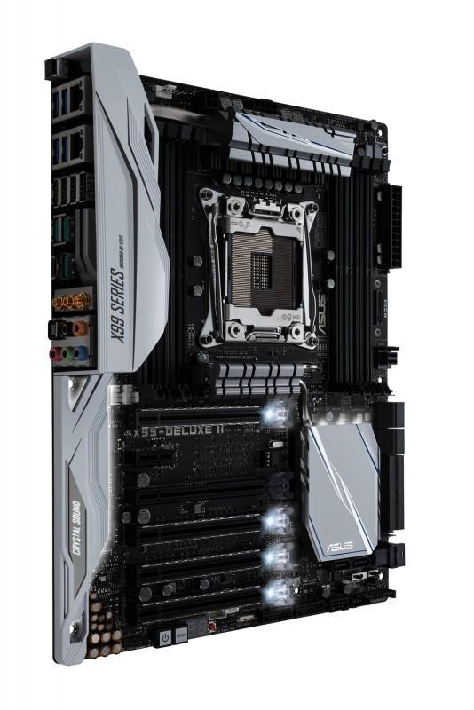 旗艦就是不一樣功能多配件滿,ASUS 華碩將要推出X99-DELUXE II 主機板