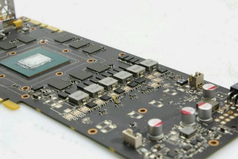 NVIDIA GTX 1080 顯示卡PCB曝光面貌曝光