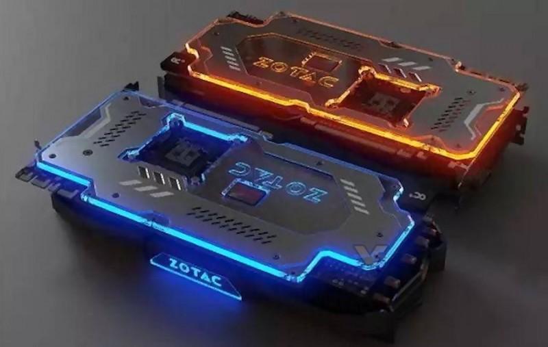 ZOTAC GeForce GTX 1080 PGF顯示卡發光設計超搶眼,能夠調整其顏色和模式