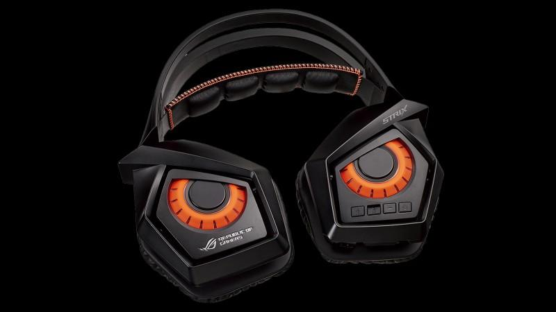 ASUS 華碩推出 ROG Strix Wireless電競耳機,沒有線更方便,電腦、電視遊樂器皆可用