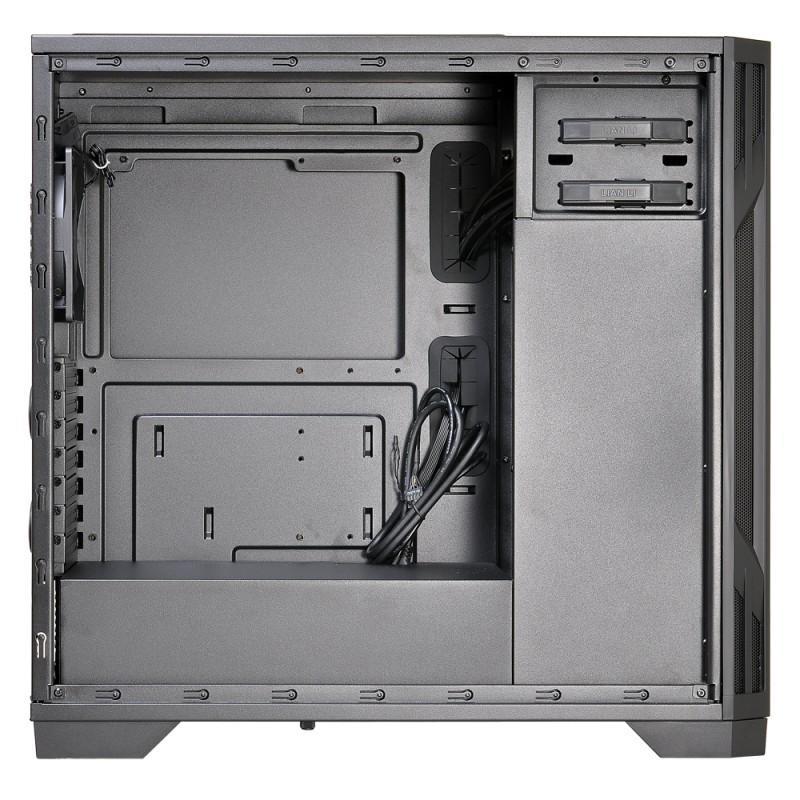 Lian Li聯力推出Ebonsteel系列PC-K6和PC-K6S兄弟機殼,俐落外觀並滿足不同需求的使用者