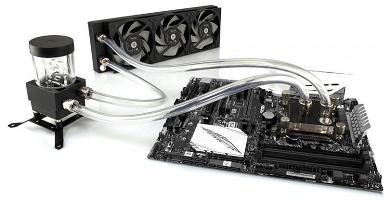 EK推出CPU水冷liquid cooling套件組,依據配置共有四個系列可選