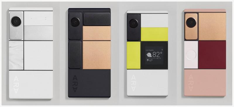 隨便DIY!谷歌模組化手機Ara明年上市