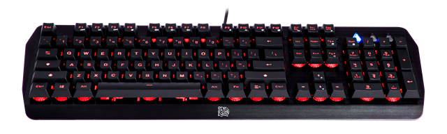 曜越電競Tt eSPORTS 推出 挑戰者CHALLENGER EDGE 薄膜式電競鍵盤