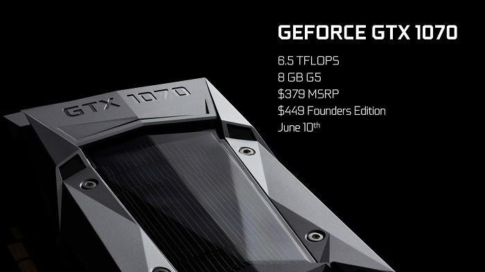 GTX 1070 跑分成績曝光,性能比TITAN X更強,但幅度只有3%