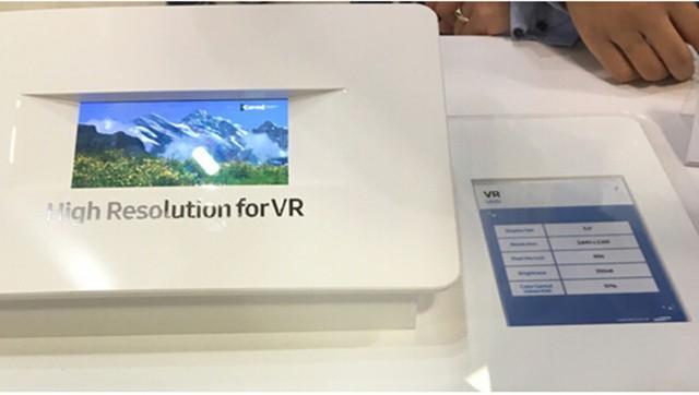 眼睛不疲勞!三星展示4K VR頭戴設備