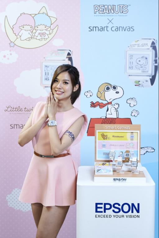 風靡日本Smart Canvas 療癒手錶 率領拉拉熊TM等卡通明星旋風登台