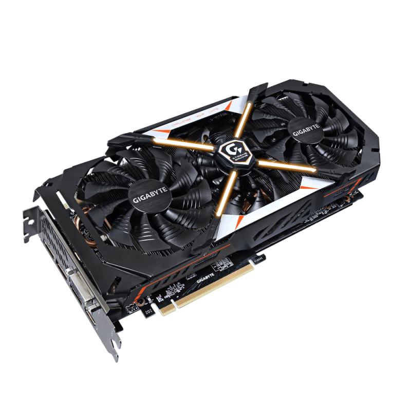 GIGABYTE 技嘉發表 GTX 1080 Xtreme Gaming Premium Pack顯示卡,三個10公分風扇卡長僅29.5公分