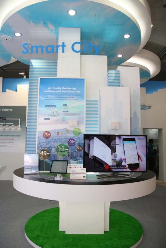 Edimax訊舟科技AirBox空氣盒子於台北國際電腦展大放異彩