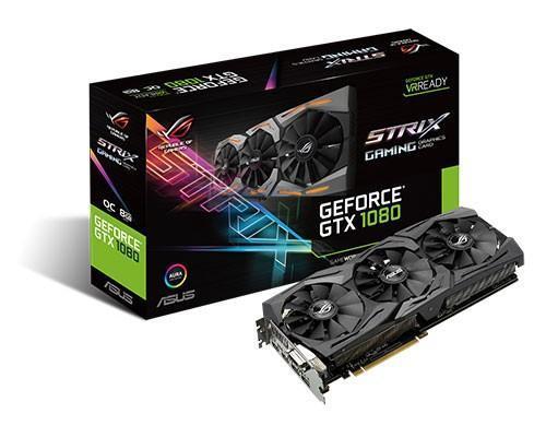 華碩ROG玩家共和國推出STRIX GeForce GTX 1080旗艦電競顯示卡