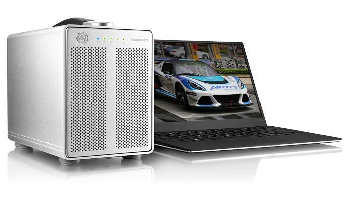 Akitio 推出可安裝 4 顆硬碟的 Thunderbolt 3 外接儲存裝置