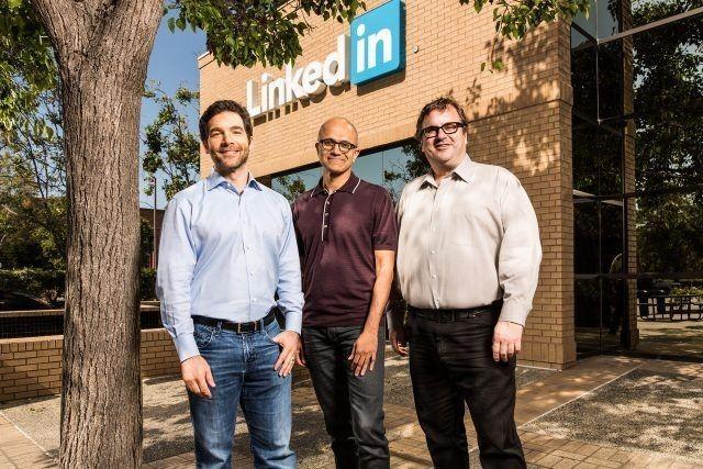 微軟262 億美元收購Linkedin,後者將保持獨立