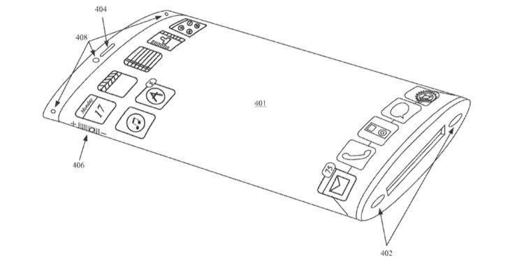 何止曲屏,蘋果為iPhone申請了360度螢幕專利