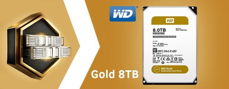 WD Gold 金標系列 8TB 硬碟評測:穩固、可靠的「Solid Gold」