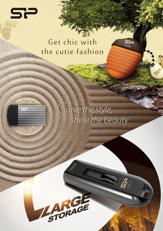 大容量、超迷你、極可愛! SP廣穎電通推出多款亮眼隨身碟