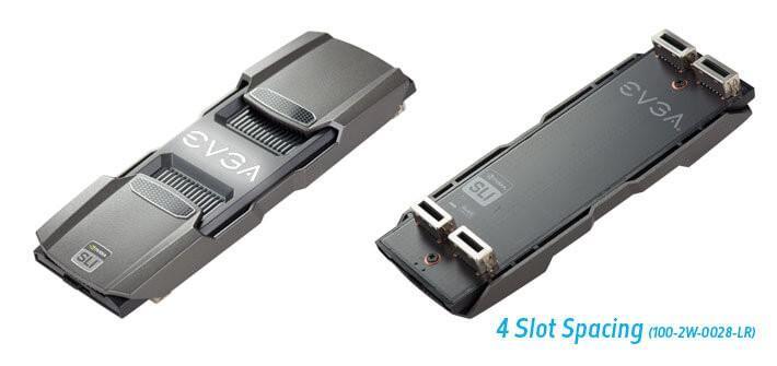EVGA推出PRO SLI BRIDGE HB橋接器,支援GTX 10系列顯示卡