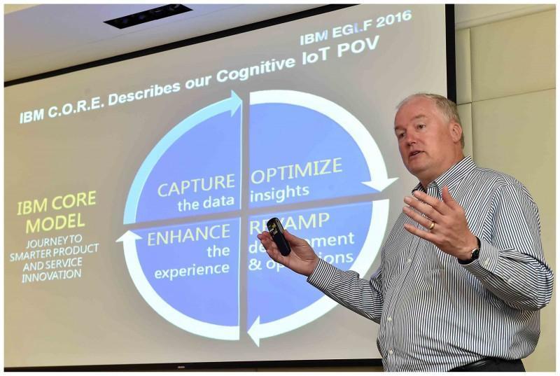 IBM 提出認知物聯網 看好電子產業下一個十年盛世