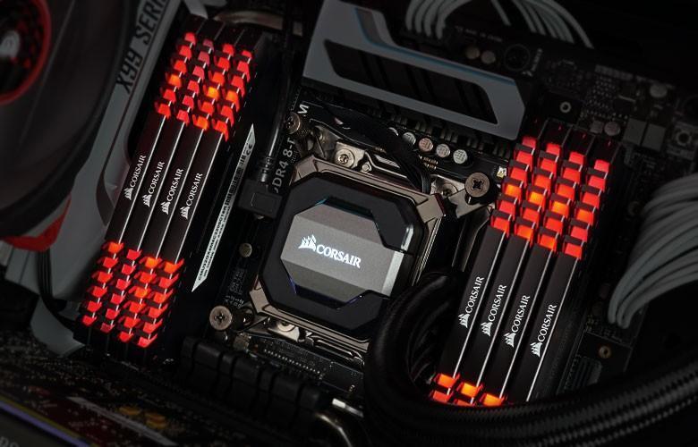 Corsair 海盜船 VENGEANCE LED DDR4發光記憶體登場,最高頻率3466MHz