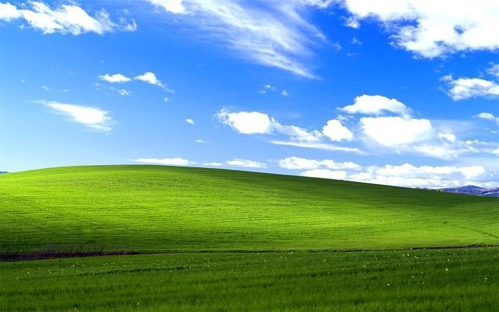 Microsoft微軟:還記得XP那張藍天白雲桌布嗎?
