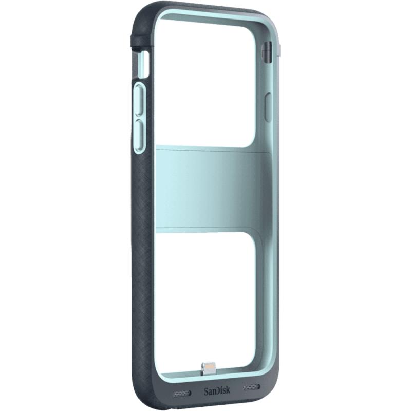 SanDisk iXpand Memory Case能夠保護手機也能儲存檔案且還能外掛電池