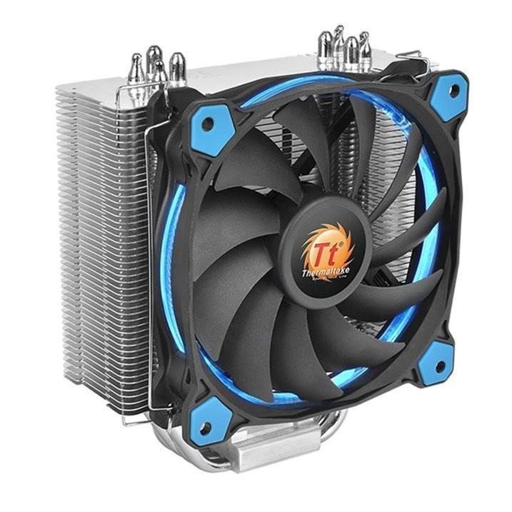 Thermaltake Riing Silent 12 CPU散熱器:暑假限定好康!加送一組Riing LED風扇
