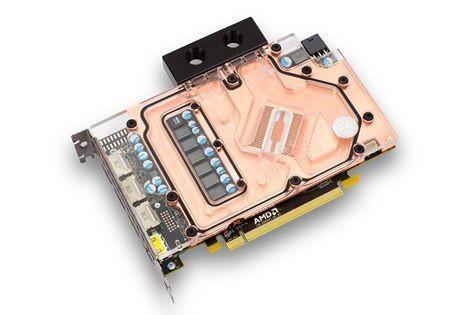 EK推出AMD Radeon RX 480顯示卡專用水冷頭