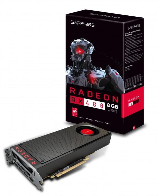 藍寶石產品在PCHOME商店街獨家首賣,RX480現貨上架,買Radeon Pro Duo送120GB SSD