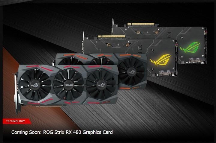 ASUS華碩ROG打造最暴力RX 480 頻率衝擊1.5GHz