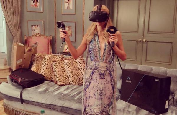 美國富家女派瑞絲入手Vive IG貼文讚超好玩
