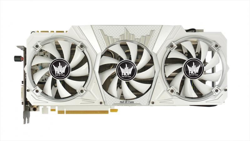 白色就是美,效能也厲害,GALAX推出NVIDIA GTX 1080 HOF限量版