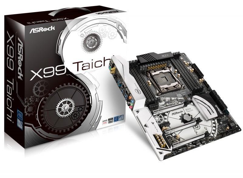 ASRock華擎正式發佈新一代X99主機板 X99 Taichi & Fatal1ty X99 Professional Gaming i7