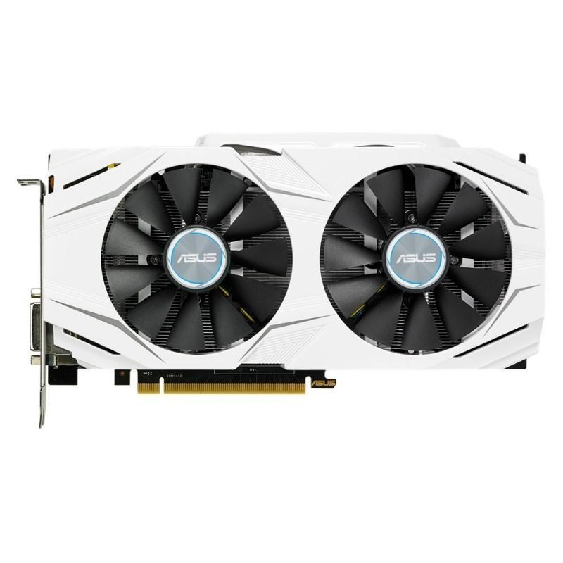 雙風扇白色外觀設計,ASUS 華碩推出 DUAL-GTX1070-O8G顯示卡