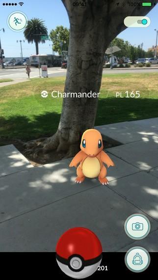 當紅炸子雞Pokémon GO精靈寶可夢GO 結合AR擴增實境和定位的手機遊戲