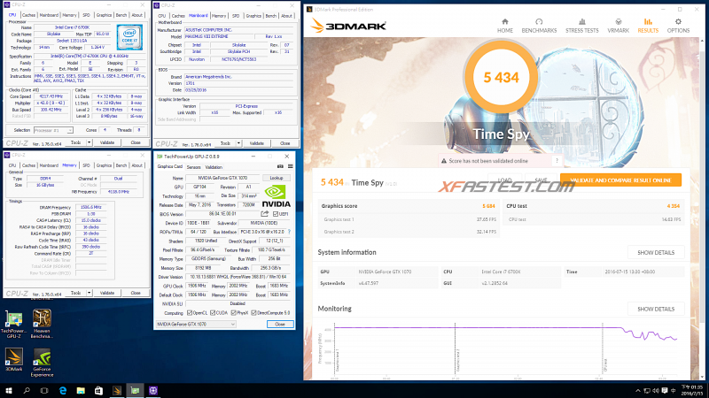 3DMark Time Spy – DirectX 12 Benchmark多張顯示卡實測效能讓你看