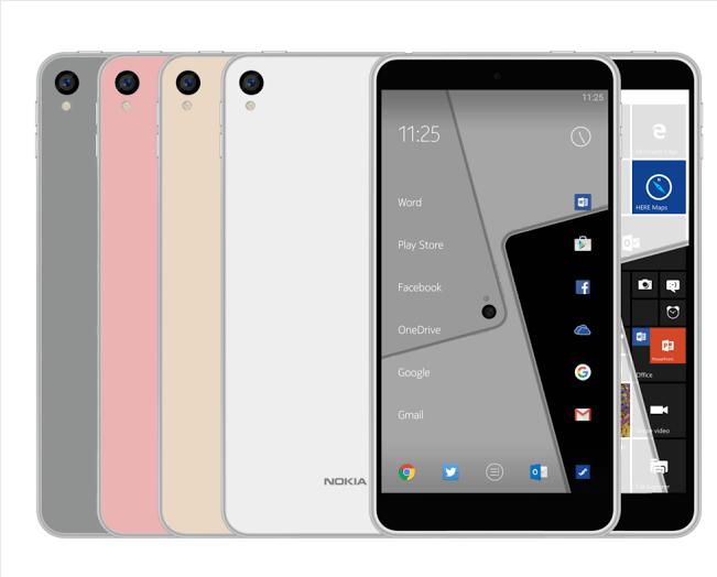 NOKIA兩款Android 7.0新機曝光 高階、中國首發