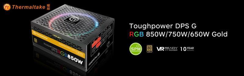 曜越全新Toughpower DPS G RGB金牌雲端智慧電源系列