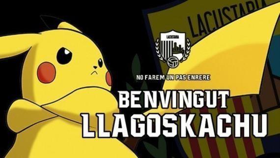 """""""Pokémon GO""""火紅 西班牙足球隊宣布簽下皮卡丘"""