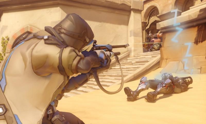 狙擊手加入戰場! Overwatch鬥陣特攻新英雄安娜前來報到