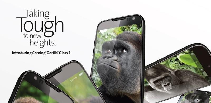 康寧推出第5代大猩猩玻璃:提升跌落防護性能