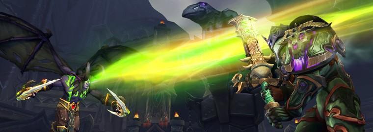 魔獸世界:軍臨天下前夕版本上線
