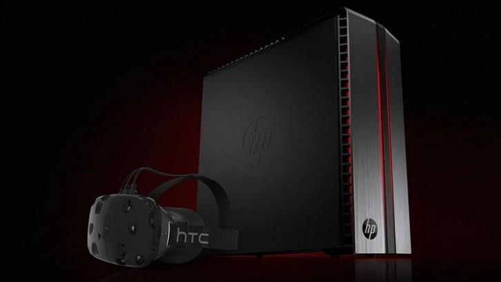 HTC將與HP合作推出Vive定製版PC