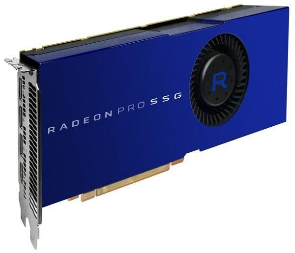 顯示卡內建SSD!AMD發布Radeon Pro Solid State專業卡