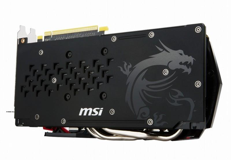MSI、TWIN FROZR VI搭載OC版Radeon RX 480「RX 480 GAMING X 8G」8月中旬発売