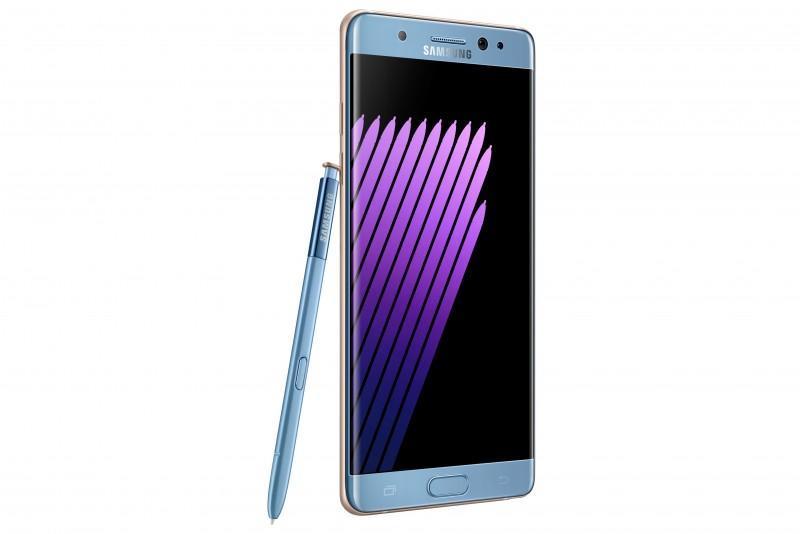 Samsung NOTE 7登場,虹膜掃描加入,S PEN水中也能用