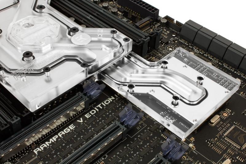EK推出ASUS Rampage V Edition 10 Monoblock主機板水冷頭