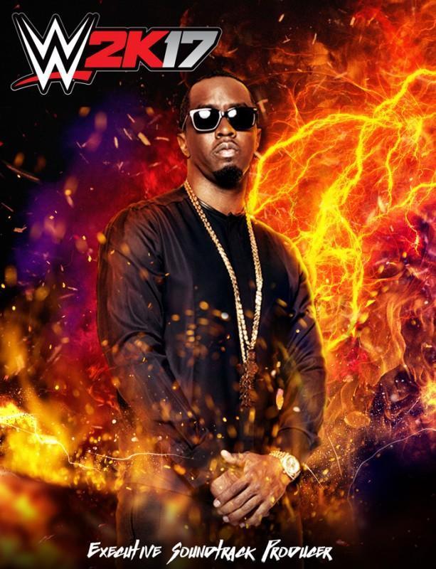 2K宣布由吹牛老爹Sean Diddy Combs擔任WWE 2K17遊戲配樂策劃人