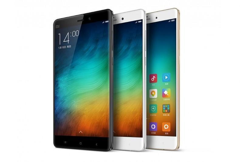 小米Note2或配備雙側曲面屏,搭載驍龍821處理器、9月份發布