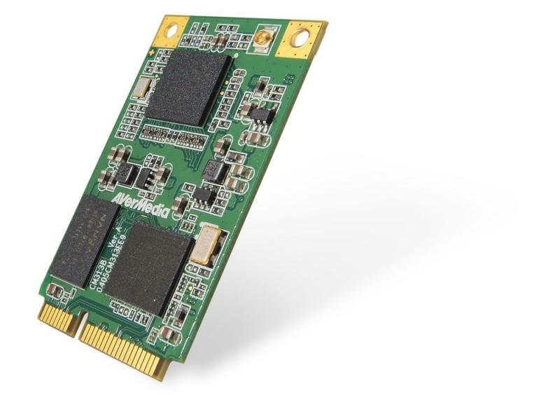 圓剛科技推出寬溫版Mini PCIe影像擷取卡,滿足車載、軍事及相關工業應用