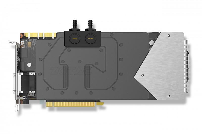 ZOTAC 帶來顛覆之作GTX 1080 顯示卡搭配ArcticStorm 水冷頭